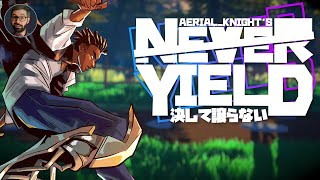 Youtube thumbnail for Aerial Knight's Never Yield review | Stylistic runner
