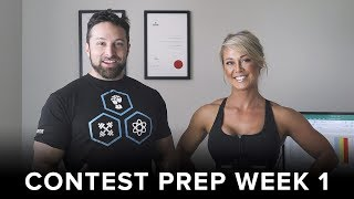 How to Set up for a Contest Prep Diet - WEEK 1