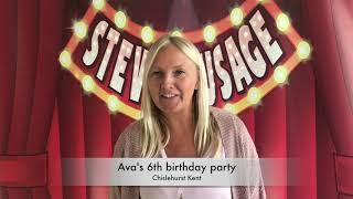 Ava's 6th birthday party