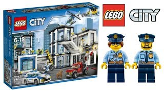 Lego City Police Station 60141 - Lego Speed Build