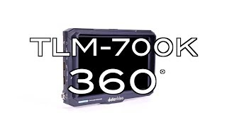 "【360 Product Video】TLM-700K 7"" 4K LCD Monitor