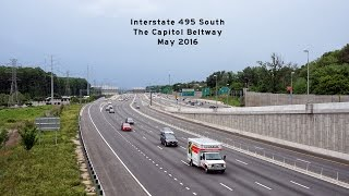 2016/05/29 - Interstate 495 - The Capitol Beltway