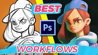How To Paint In Photoshop - Best Digital Painting Workflows