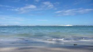 preview picture of video 'Plage de l'ermitage Réunion'