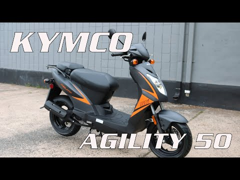 2021 Kymco Agility 50 in Enfield, Connecticut - Video 1