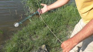 Как пользоваться рыболовной резинкой с крючками