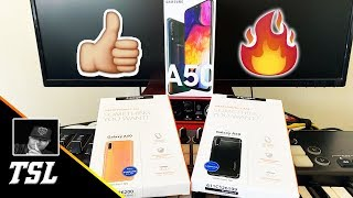 Spigen Cases For The Samsung Galaxy A50   Unboxing