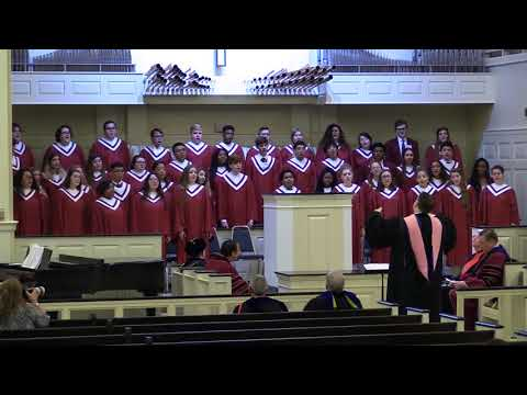 """Things That Never Die"" Centenary College Choir at Founders Day Convocation 2018"