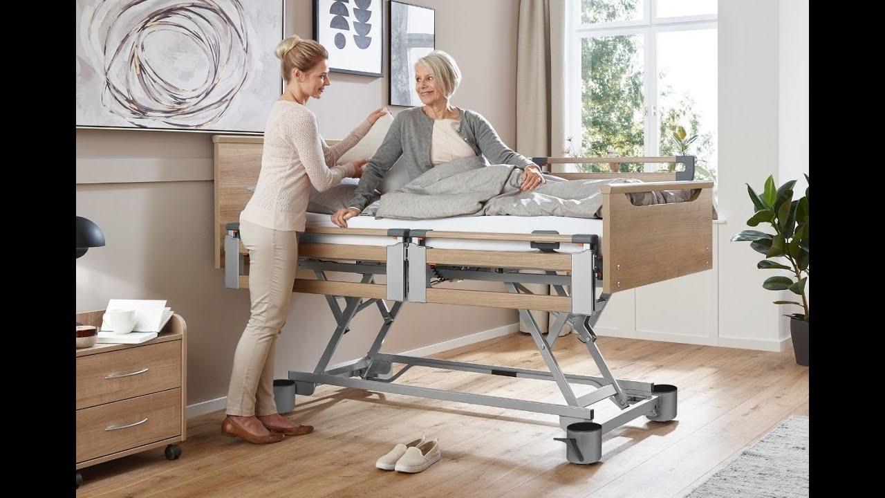 Pflegedoppelbett Regia Partner von BURMEIER - elektrisch verstellbar