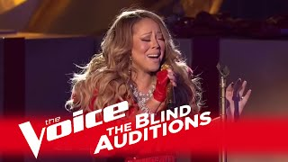 """The Voice 2014 - Mariah Carey Blind Audition: """"All I Want For Christmas Is You"""""""