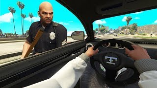 When You Pretend That You Can't Hear The Cop.. (GTA RP)