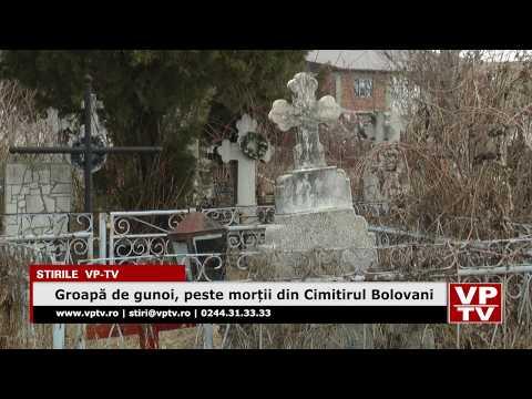 Groapă de gunoi, peste morții din Cimitirul Bolovani