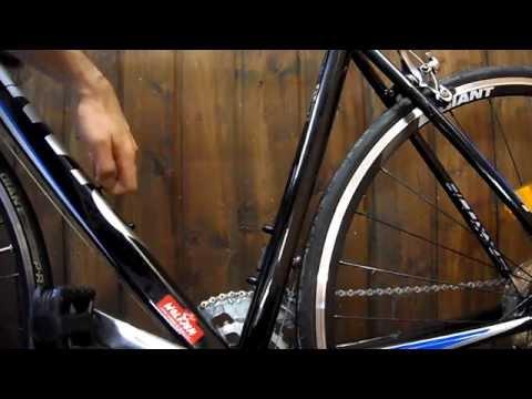 DIY Fahrradlumftpumpe montieren - Luftpumpe am Fahrrad anbauen