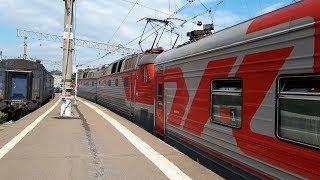 ЧС7-046 с поездом №94 Москва-Пенза