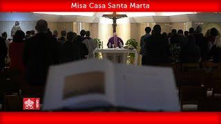 Papa Francisco-Misa Casa Santa Marta 2020.03.28
