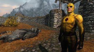 Skyrim The Flash Mod