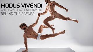 Modus Vivendi Anti-Bacterial men's underwear behind the scenes