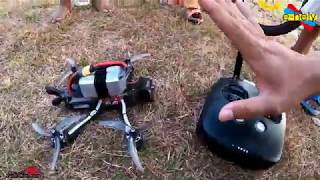 Review & Test Jarak DJI FPV SYSTEM