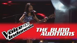 """Charisa """"Roar"""" I The Blind Auditions I The Voice Kids Indonesia GlobalTV 2016"""