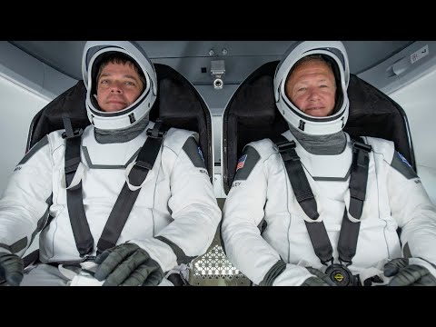Two NASA Astronauts Home Journey
