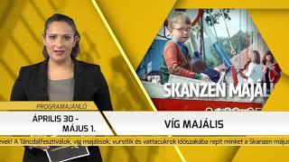 Programajánló / TV Szentendre / 2018.04.19.