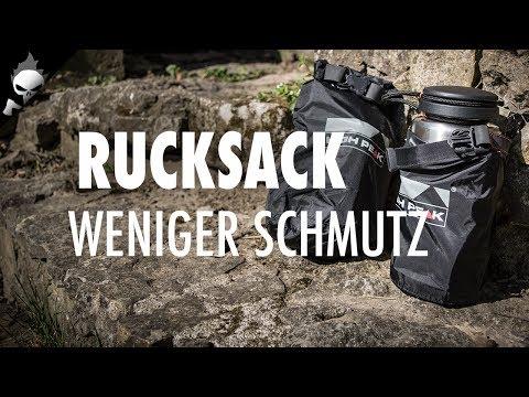 Ausrüstung: Kleine Packsäcke gegen Ruß und Schmutz im Rucksack – Bushcraft, Survival und Camping