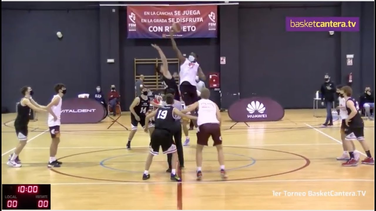 Directo - U16M - CB ZENTRO BASKET vs B. TORRELODONES - I Torneo BasketCantera.TV