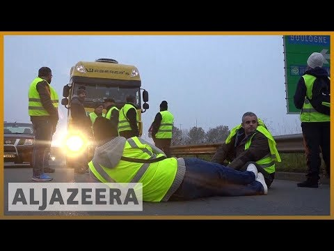 🇫🇷One dead, over 200 injured in French protests over fuel prices | Al Jazeera English