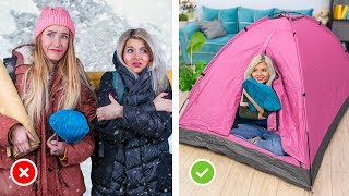 How To Make Camp At Home?