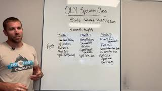Oly Specialty Class
