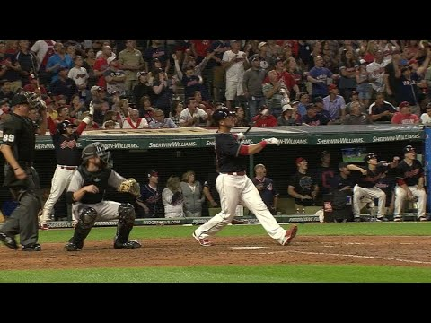 8/8/17: Gomes powers the Indians with walk-off homer