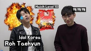 Idol Korea Panik Makan Snack Pedas Indonesia(Maicih Level 10)