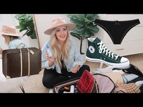 my best packing tips + must-have travel essentials!!