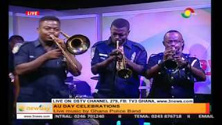 Check out live band music by Ghana Police band