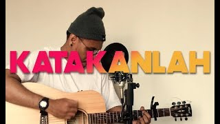 Jaz   Katakan ( Rhov Cover )  LIVE ACOUSTIC [ Lyrics Inside ]