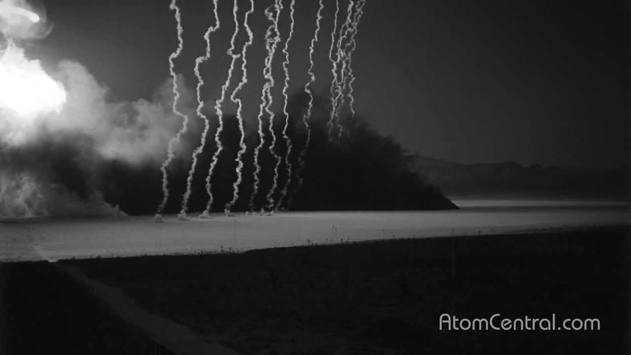 What Are Those Smoke Columns Around Nuclear Bomb Tests?