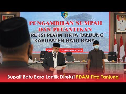 Bupati Batu Bara Lantik Direksi PDAM Tirta Tanjung