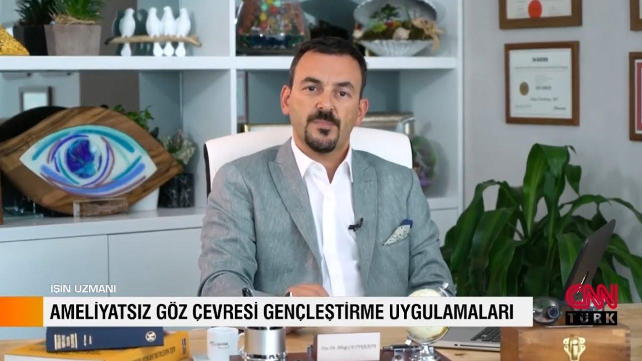 Ameliyatsız Göz Çevresi Estetiği - CNN Türk