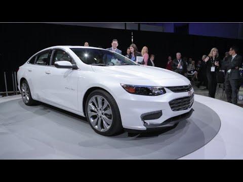 2016 Chevrolet Malibu - 2015 New York Auto Show
