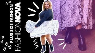 Fashion Nova Curve Haul - Plus Size Lookbook