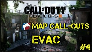 MLG Map Call-outs for Evac | Competitive Tips | Call of Duty: Black Ops 3