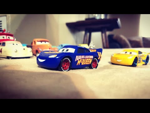 "Disney Pixar Cars 3 ""A Fabulous Ending"" Cars 3 Stop Motion Ending Remake!"