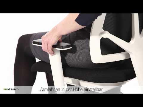 Bürostuhl 4ME Mesh 3D Balance für ergonomisch gesundes Sitzen