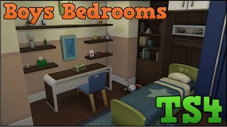 The Sims 4 Styled Rooms: Boys Bedrooms