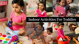 Lockdown Life With A Kid/INDOOR ACTIVITIES For Kids During LOCKDOWN/HOW TO ENTERTAIN 2-3 YEAR OLD