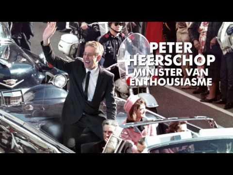 """Peter Heerschop als minister van enthousiasme in Meerpaal: """"Lol is een serieuze zaak"""""""