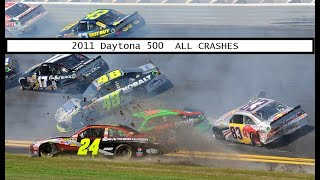All NASCAR Crashes From The 2011 Daytona 500
