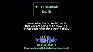 IT Techno-Phobes Limited Tip 19 – IT Support Services In Birmingham