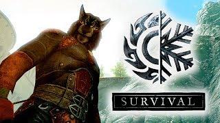 СТРИМ -  Skyrim Special Edition Выживание Легенда! #8 Собираем банду