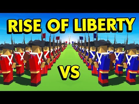 1000 vs 1000 HUGE BATTLE IN RISE OF LIBERTY (Rise of Liberty Funny Gameplay)